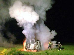 Fahrzeugbrand